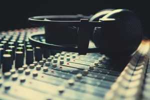 audio engineering soundboard