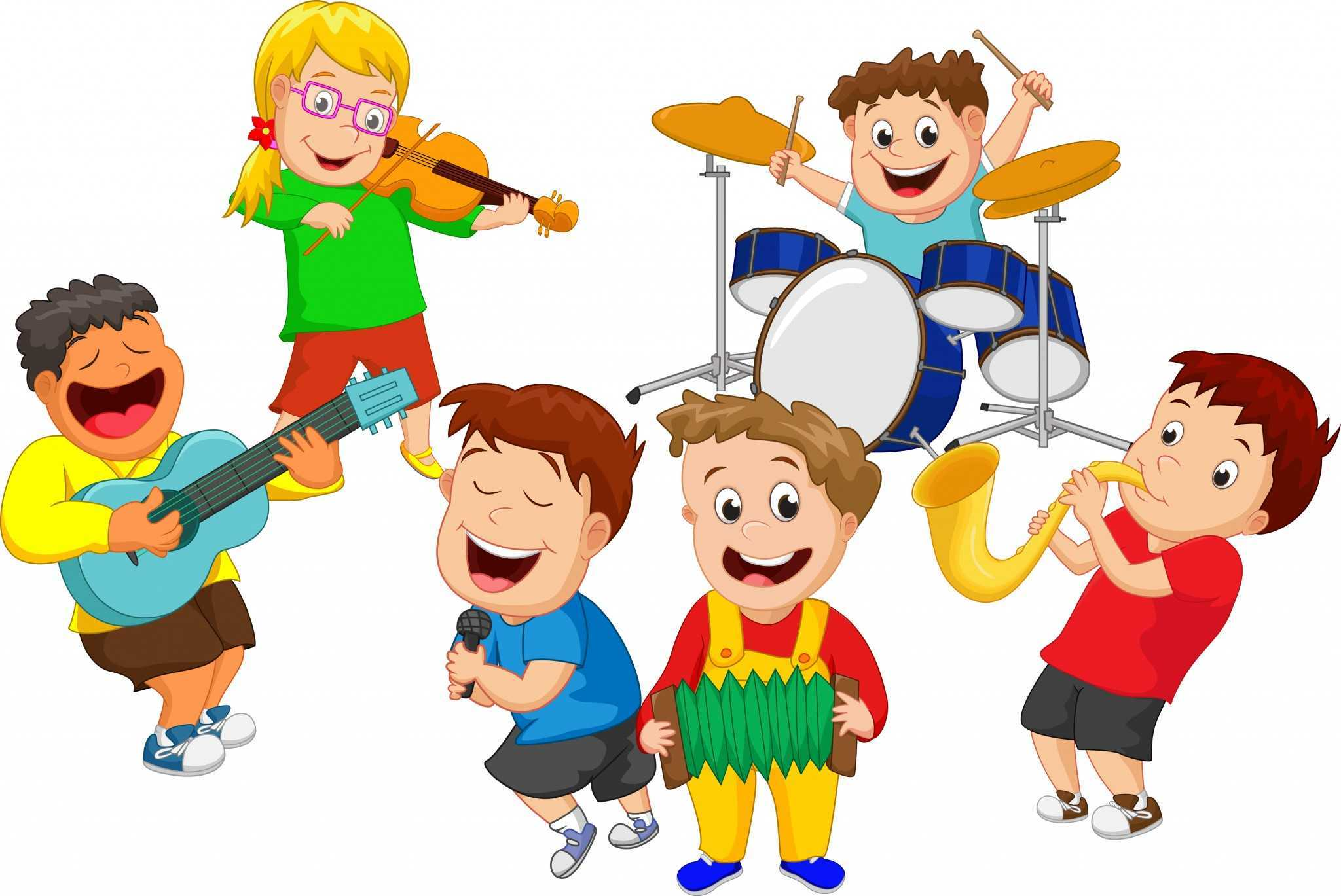 music children education clipart wordplay cartoon five benefits musical lab research current guide use preferences language social