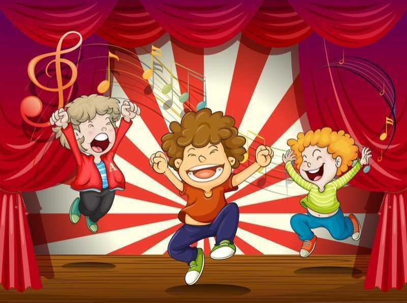 music children graphic