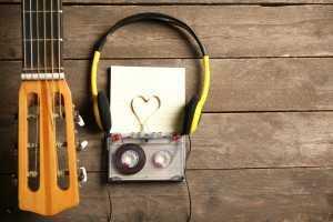 cassette tape love music