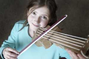 fake violin