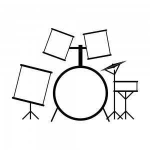 simple drum set