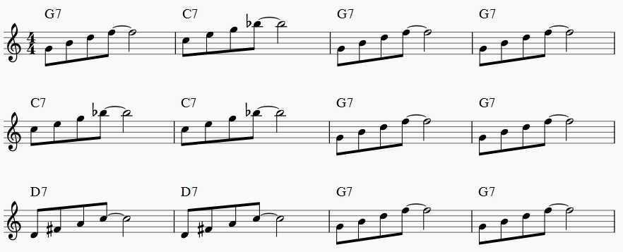 Jazz Saxophone Exercise Musika