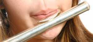 flutist's embouchure