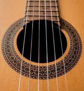 6 strings guitar