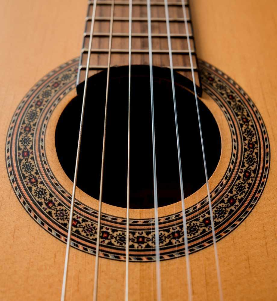 6 strings guitar