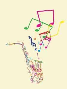 jazz sax Musika