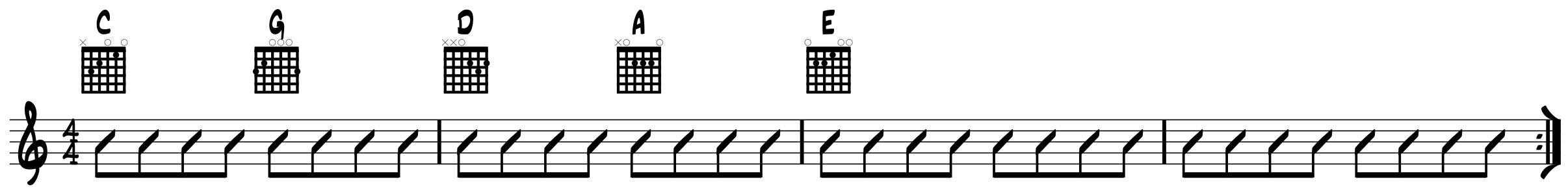 Hey Joe eighth notes
