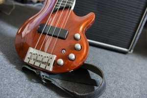 electric bass guitar jazz
