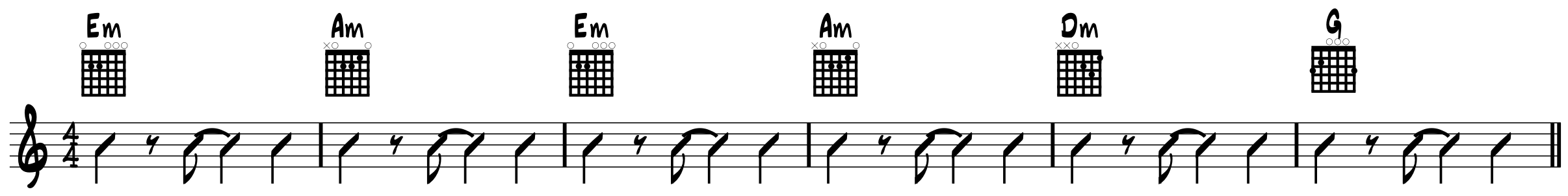 Can\'t Buy Me Love Chords: 3 Open-String Minor Chords in Action