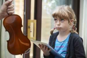 motivation to practice violin