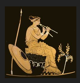 ancient greek flute