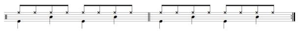 drum practice sheet music