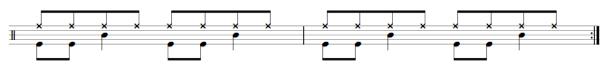 drum sheet music free exercise