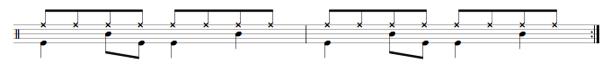 drumming exercise sheet music free