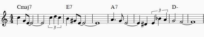 jazz exercises all of me