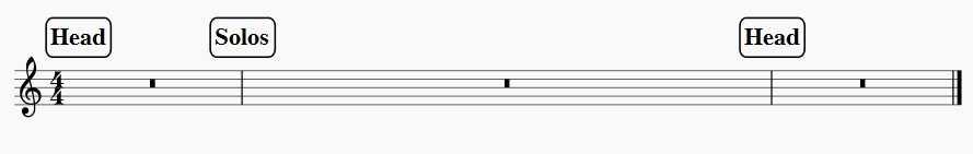 standard jazz form