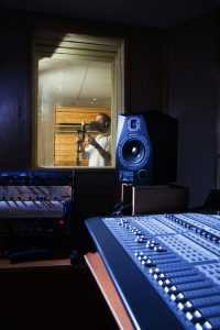 recording studio equipment