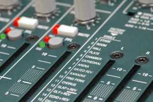 reverb effects on soundboard