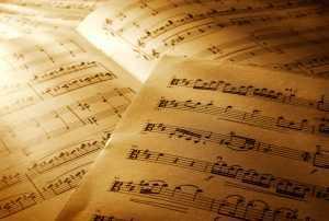warm light sheet music