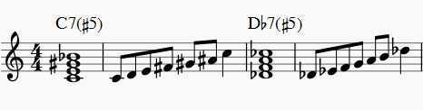 chord for whole tone
