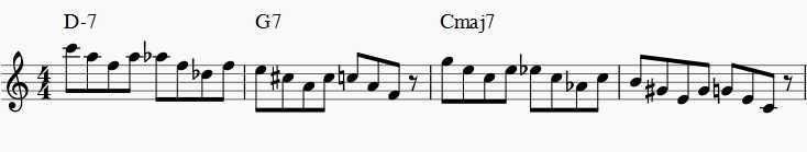 exercise for practicing augmented jazz