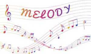 melody element of a song