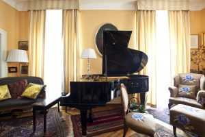 piano room acoustics carpet