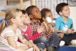 elementary music classroom
