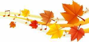 musical leaves fall