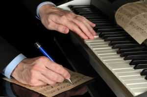 composing with piano