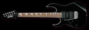 ibanez guitar black brands