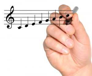 singing scales C major music