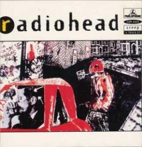 radiohead creep original single cover