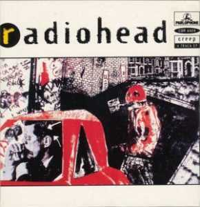 radiohead creep original single cover