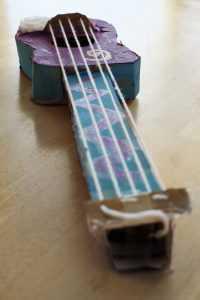 cardboard violin suzuki