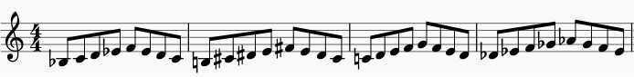 saxophone warm-up exercise