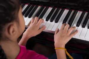 piano lesson plans C scale