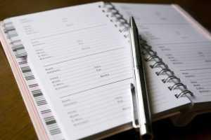 address book planner