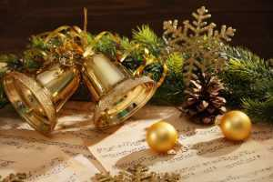 christmas bells on sheet music