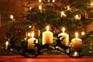 silent night candles