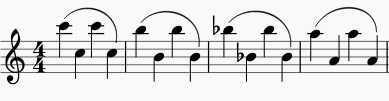 flute exercise octave slurs