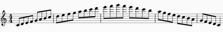 major scales flute warm ups