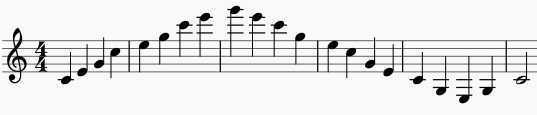 clarinet warm ups arpeggios