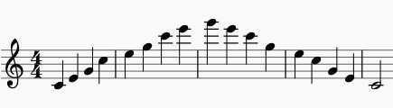 flute arpegios