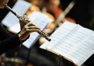 music concert flute