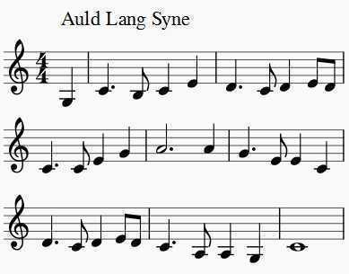 5 - auld lang syne