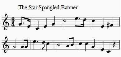 Star Spangled Banner Music