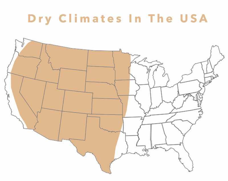 dry climates