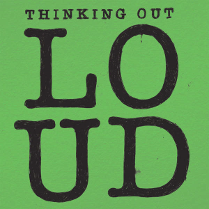 Thinking Out Loud single cover art
